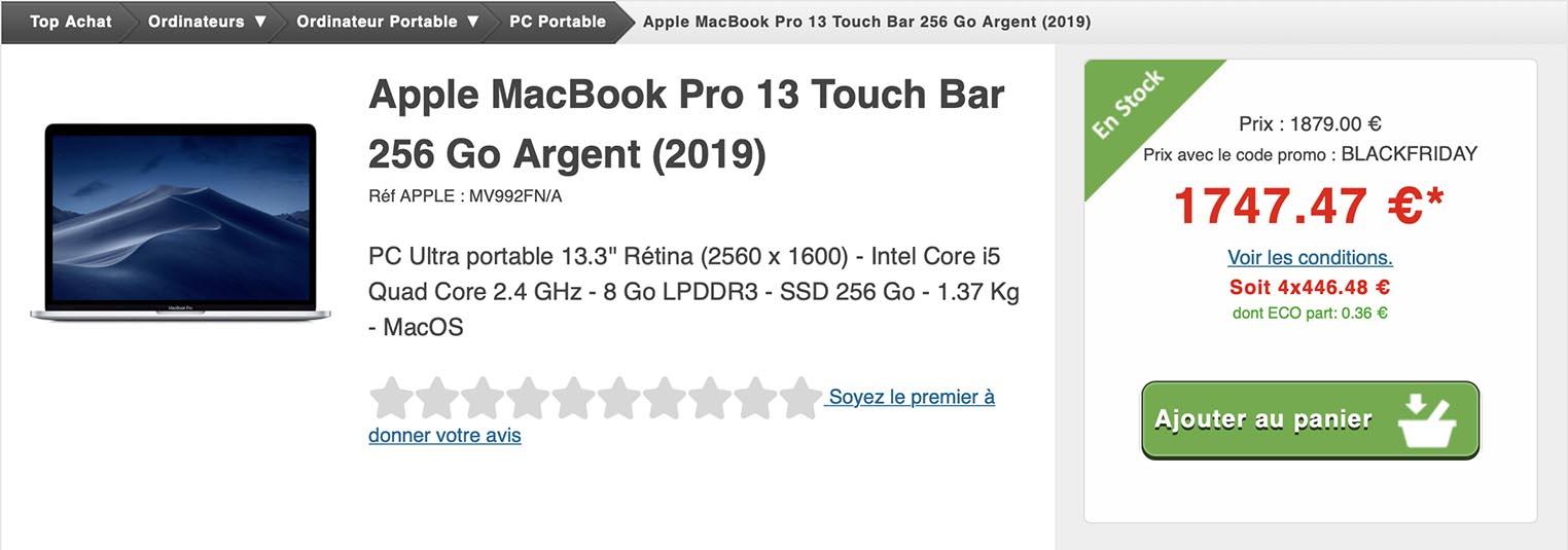 MacBook Pro Top Achat