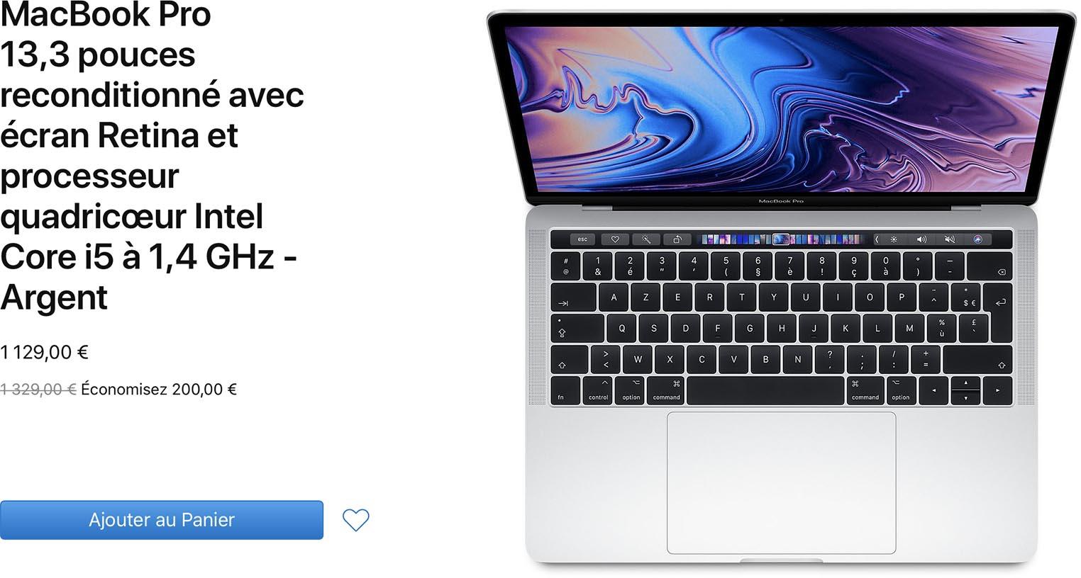 MacBook Pro 2019 Refurb Store