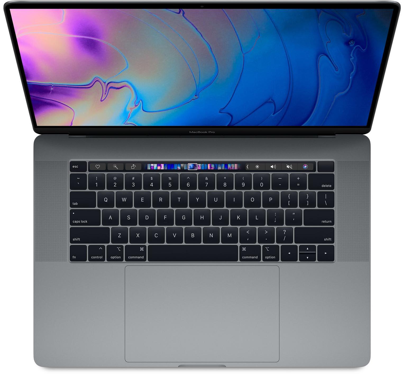 MacBook Pro 16 pouces concept clavier
