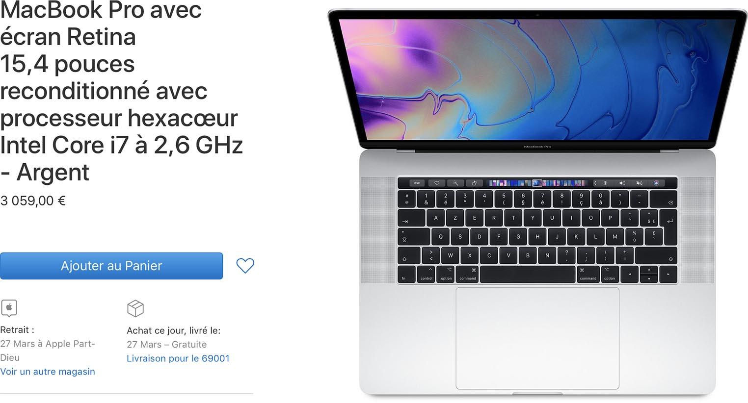 MacBook Pro Vega Refurb