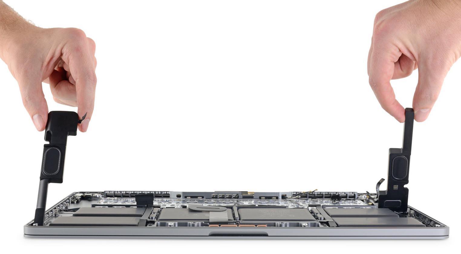 MacBook Pro 16 iFixit