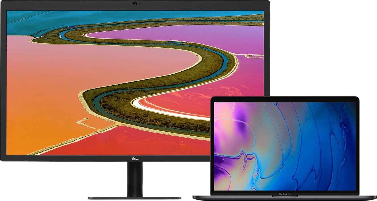 MacBook Pro 2018 UltraFine Display