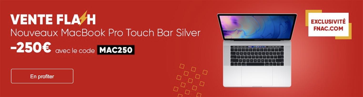 MacBook Pro 2018 promo Fnac