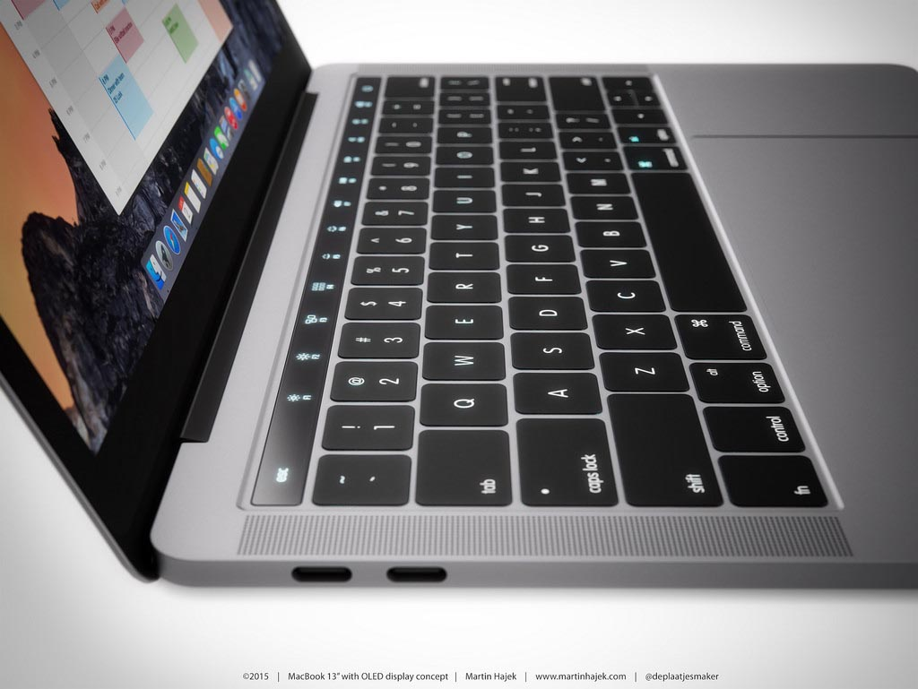 Rendus MacBook Pro 2016 Martin Hajek