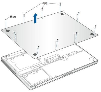 MacBook Pro démontage