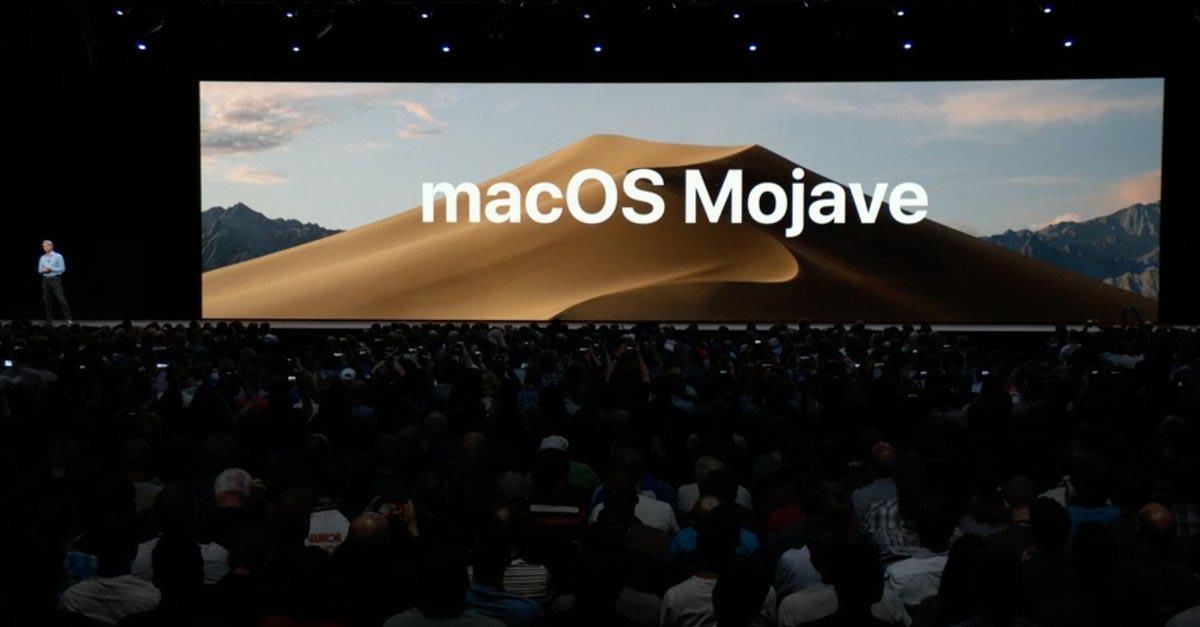 macOS Mojave Keynote