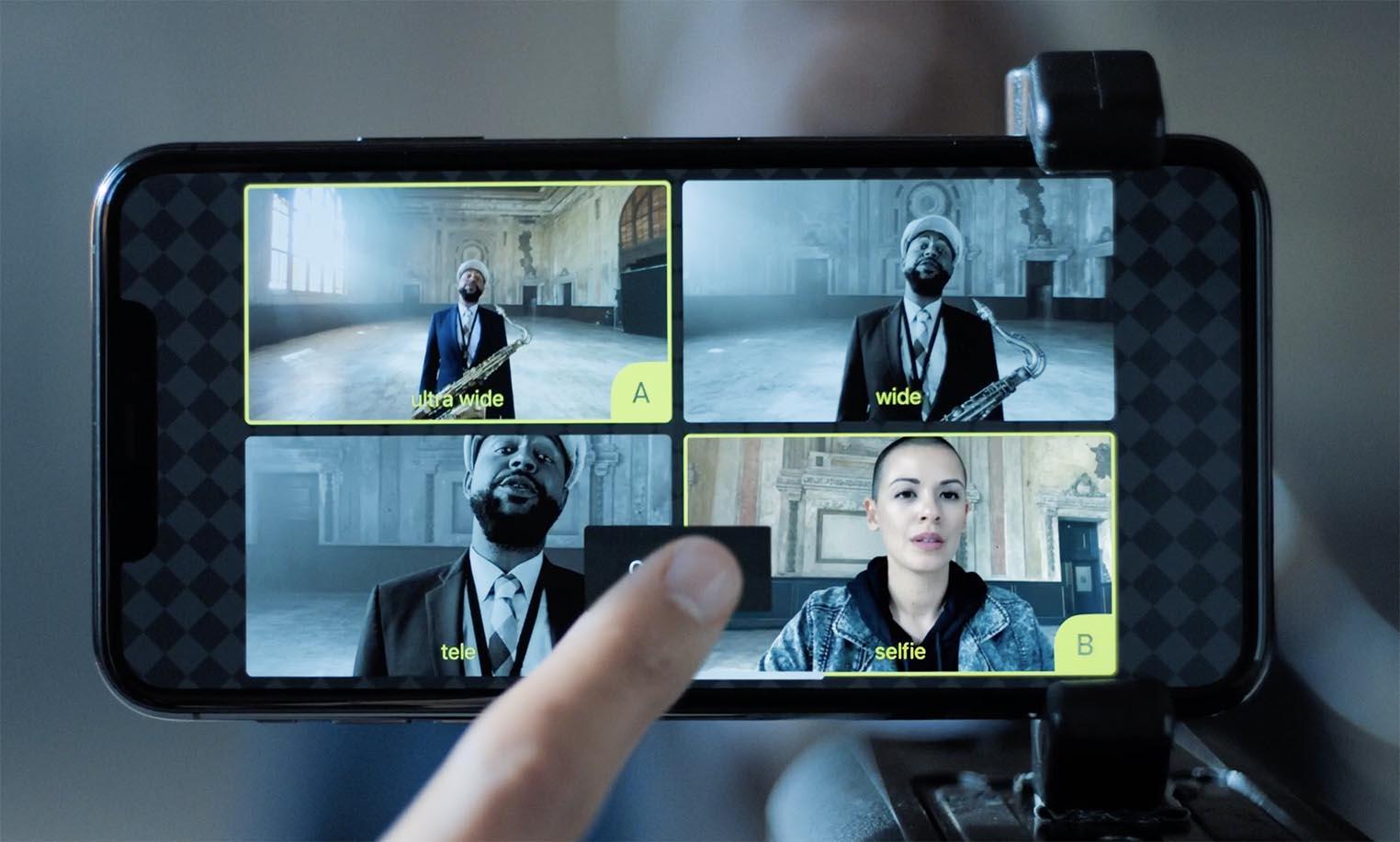 L'enregistrement multi-cam pas limité à l'iPhone11