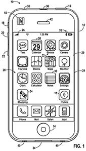 NFC shopping Apple