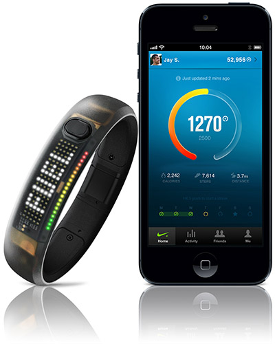 Nike Fuelband sur iPhone
