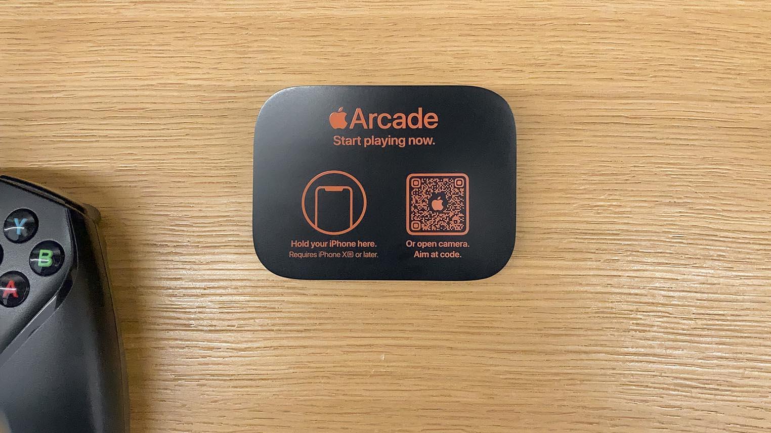 Tag NFC Apple Arcade