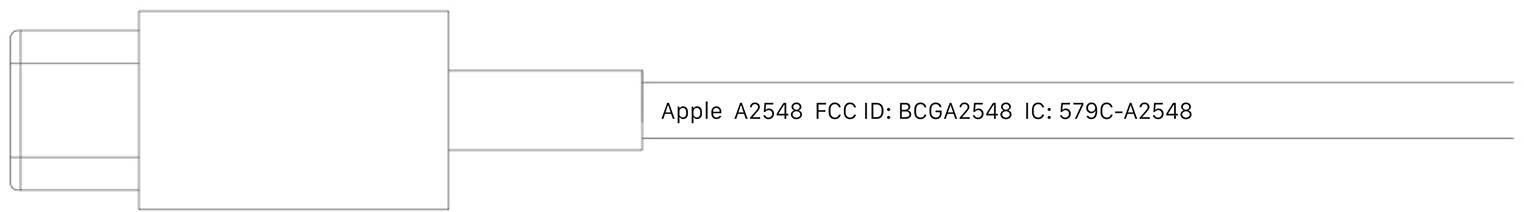 Nouveau chargeur MagSafe FCC