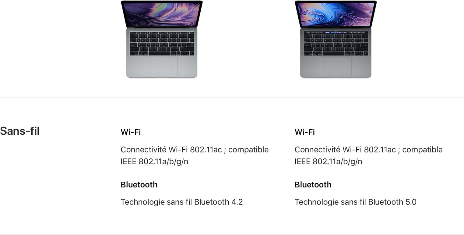 Bluetooth 5 MacBook Pro 2018