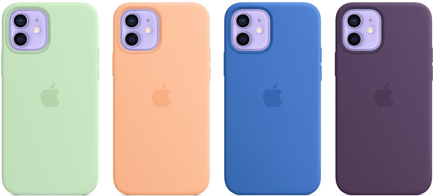 Nouveaux coloris coques iPhone 12