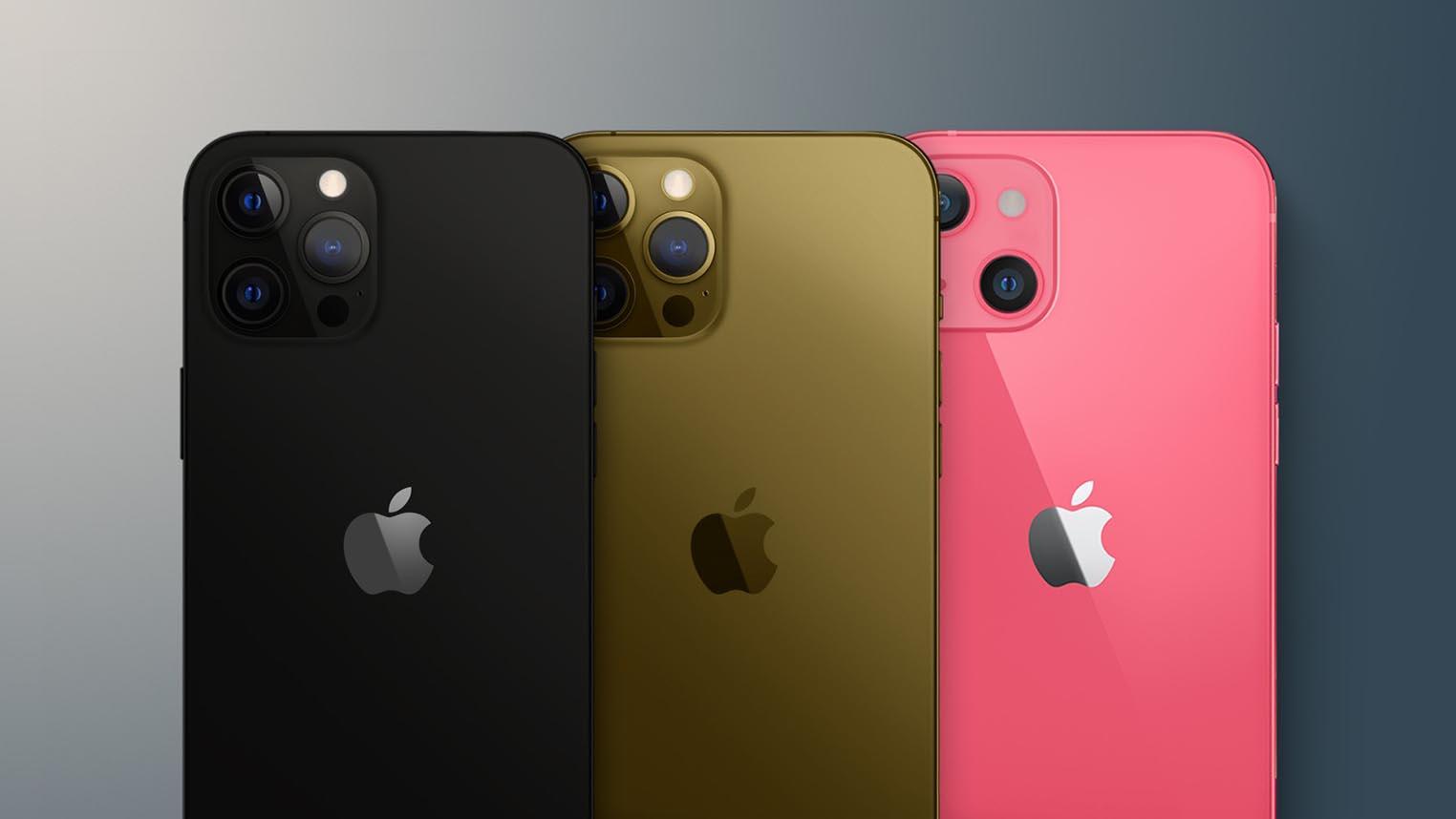Coloris iPhone 13
