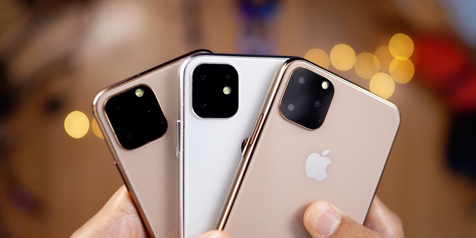 iPhone 2019 maquettes