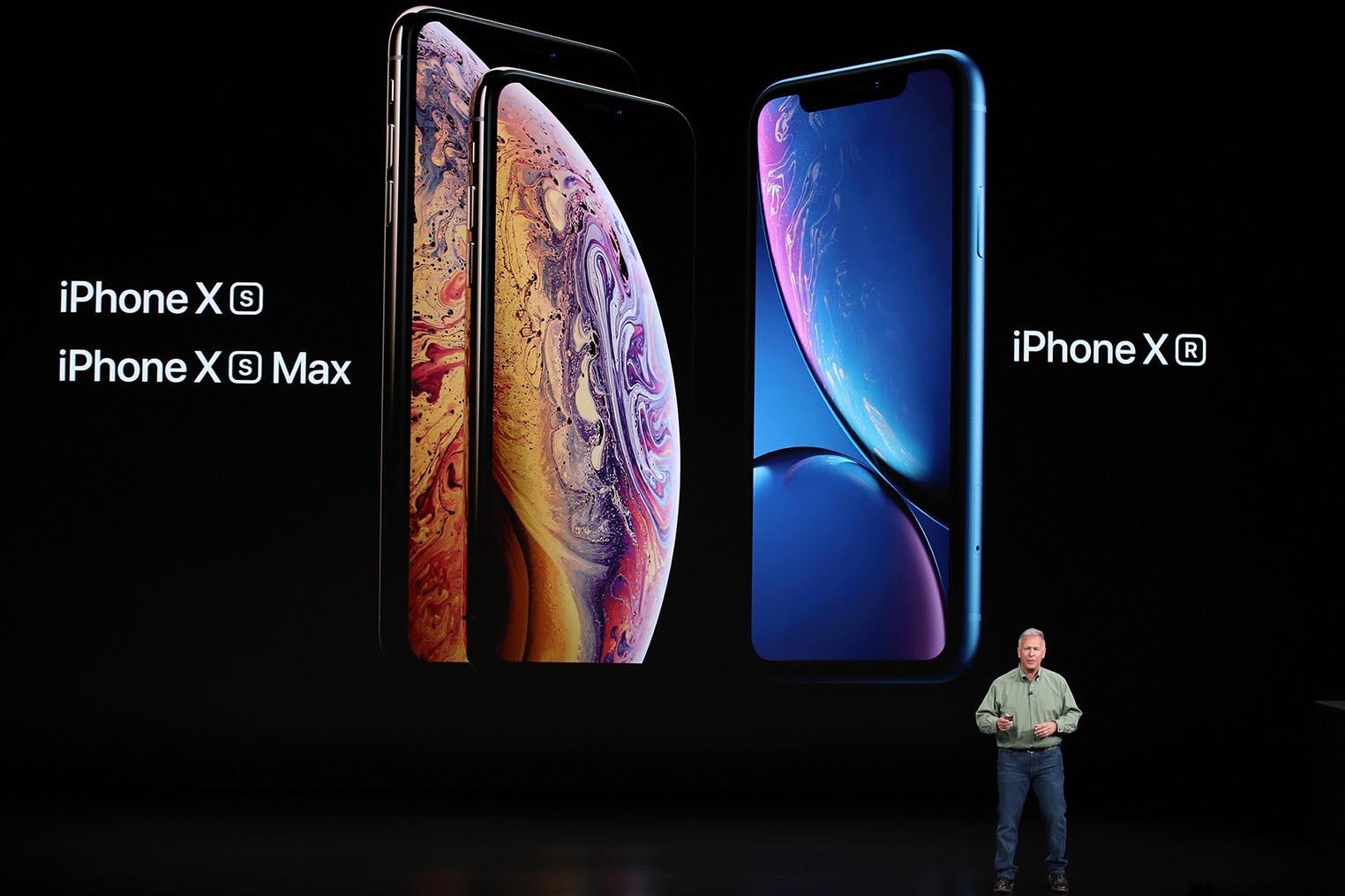 iPhone XS XR keynote 2018