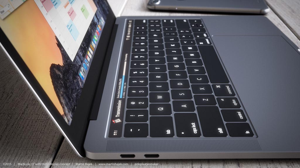 MacBook Pro 2016 rendu