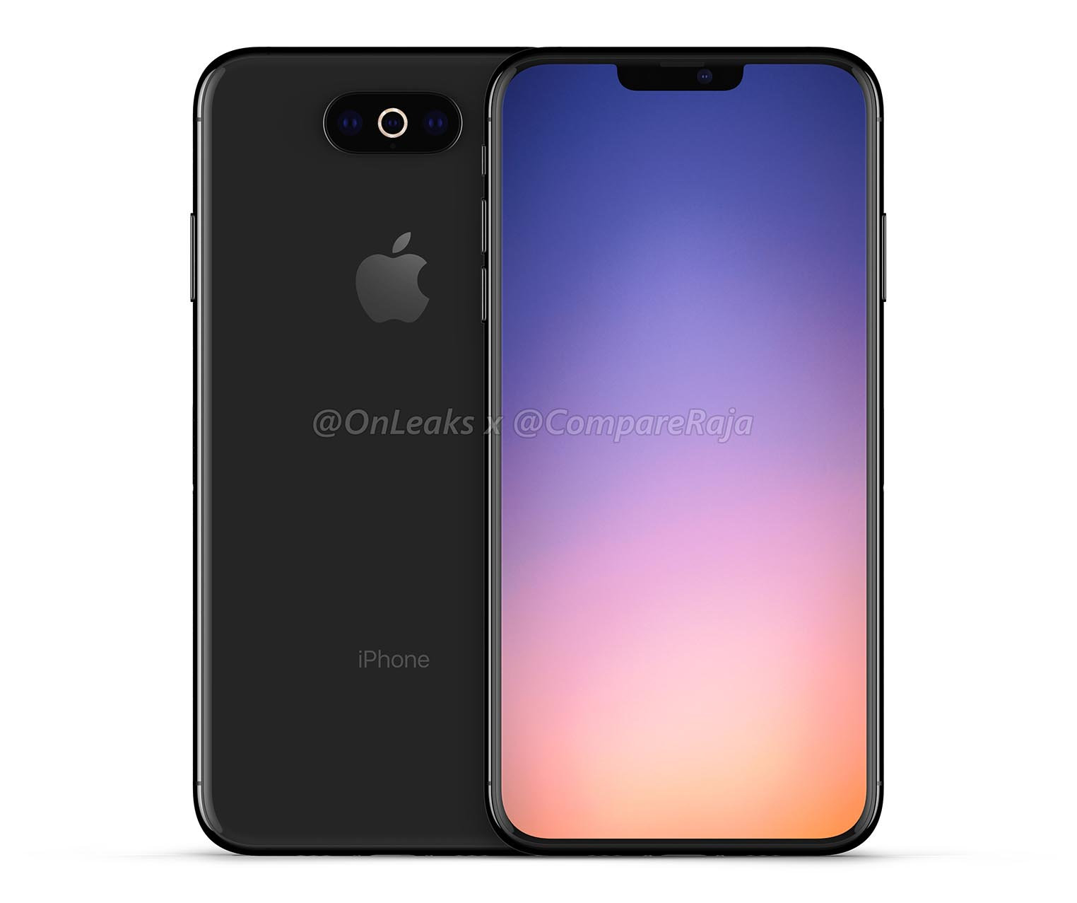 iPhone 2019 rendu