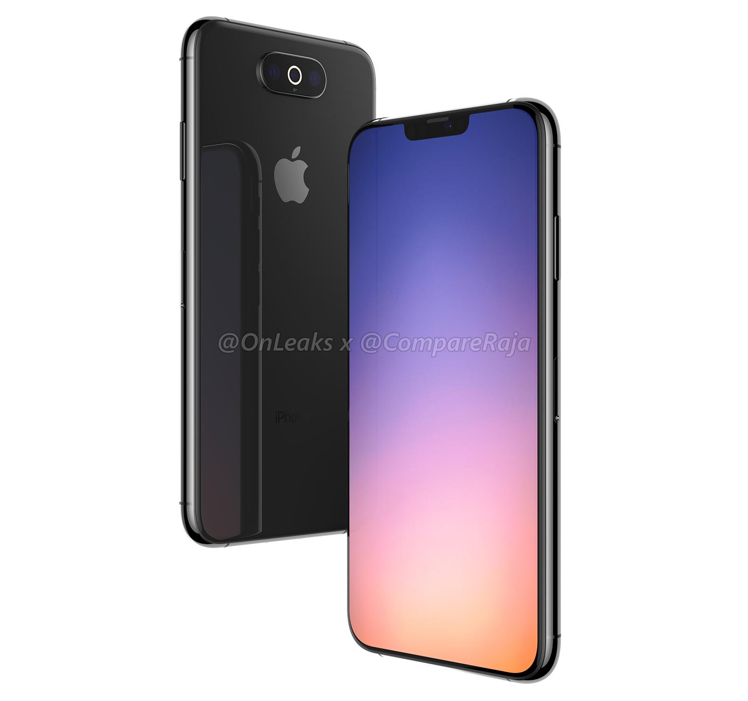 Rendu iPhone 2019