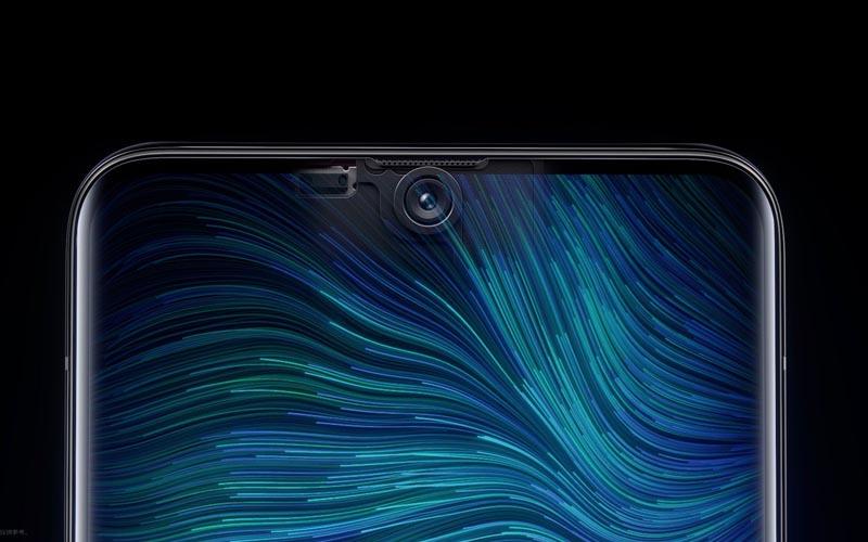 Oppo montre officiellement sa caméra sous l'écran