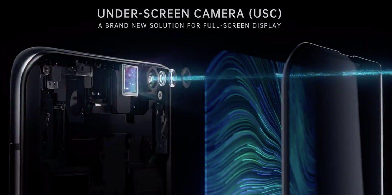Oppo caméra sous l'écran