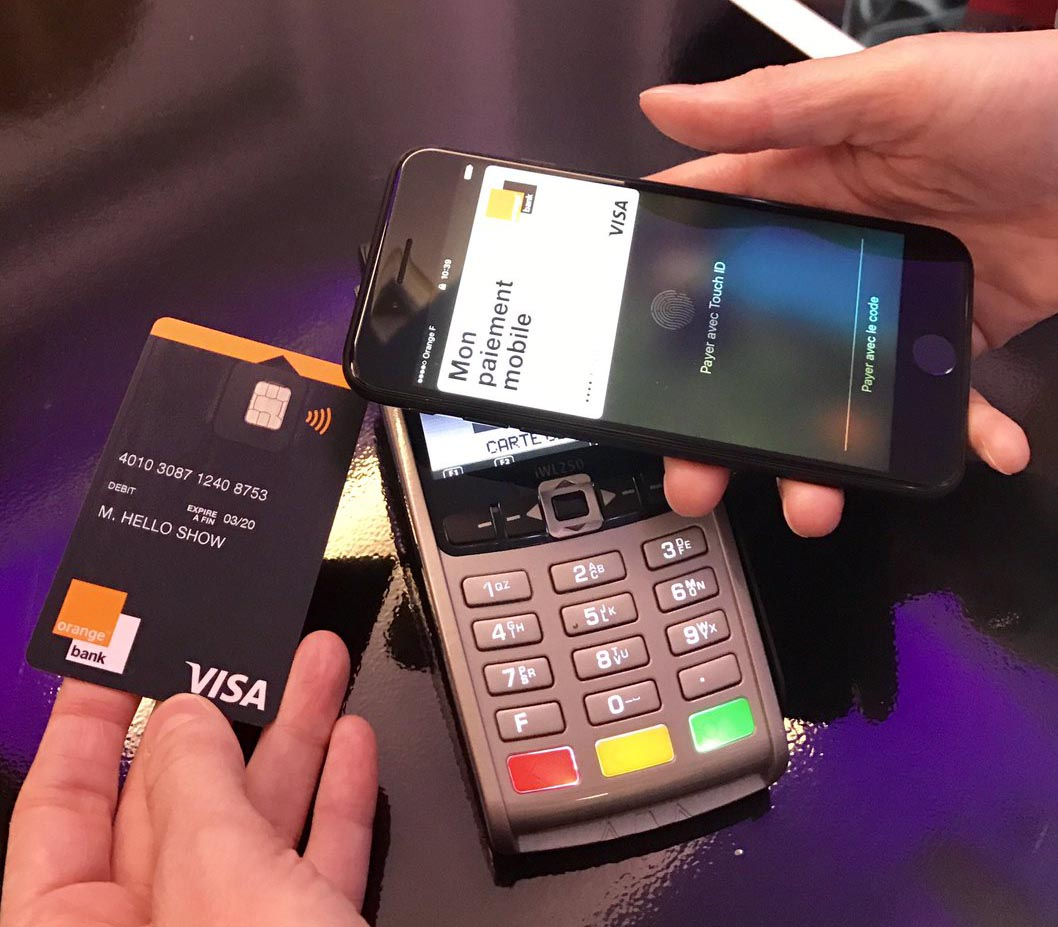 Orange Bank Apple Pay