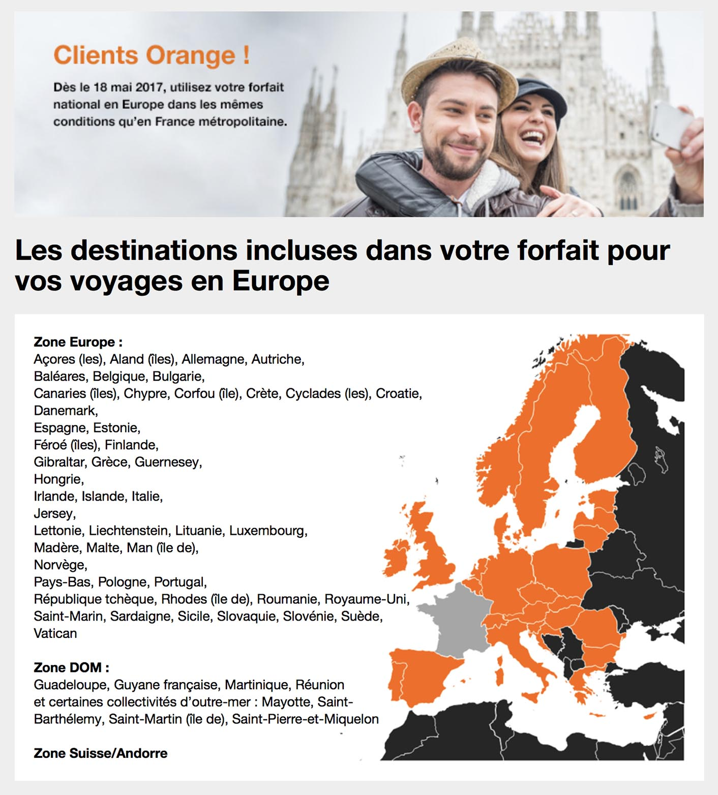 Fin roaming Orange