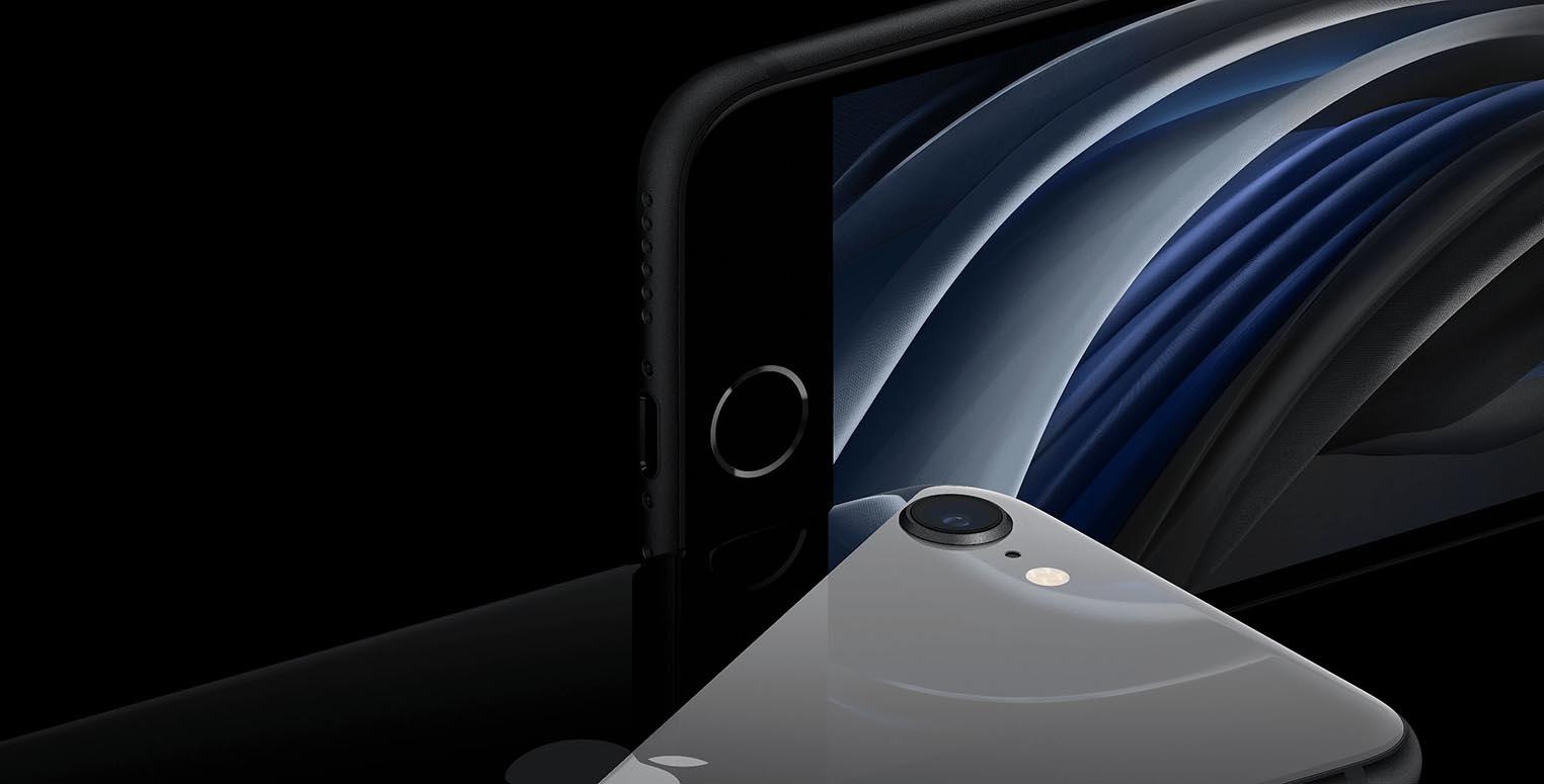 iPhone SE 2020 noir
