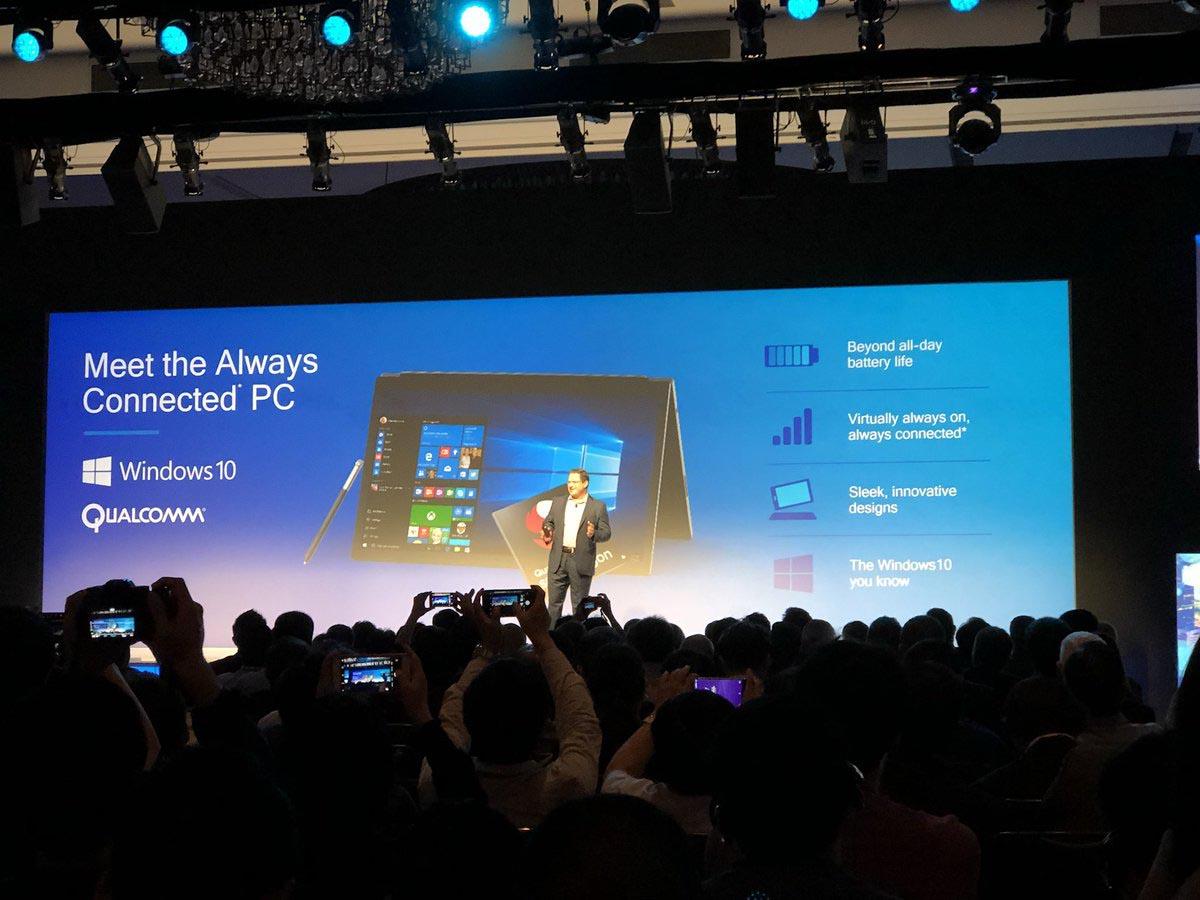 Windows 10 ARM Qualcomm