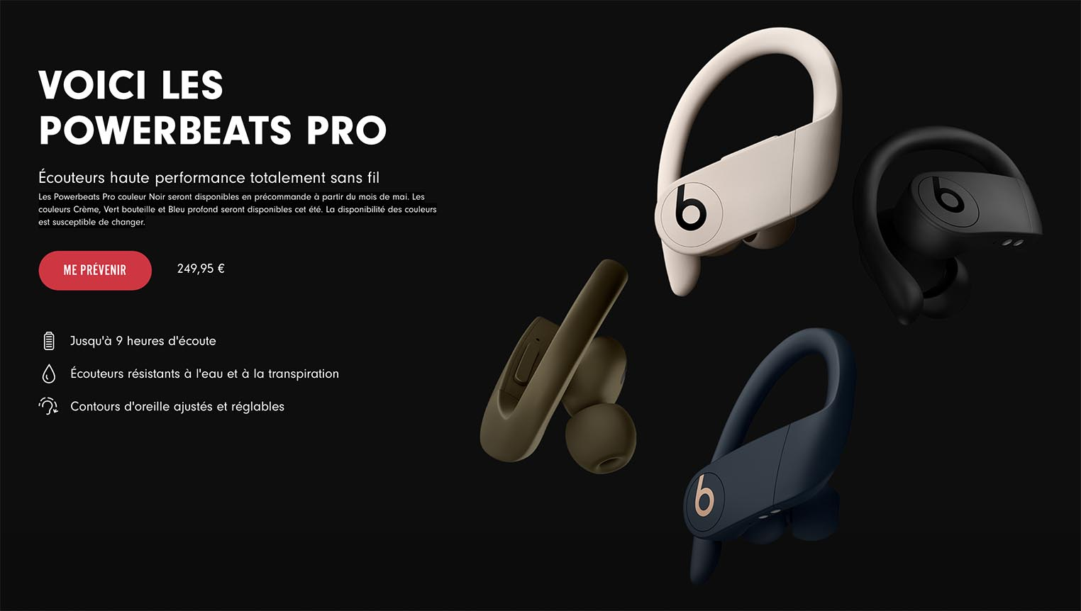 Powerbeats Pro France