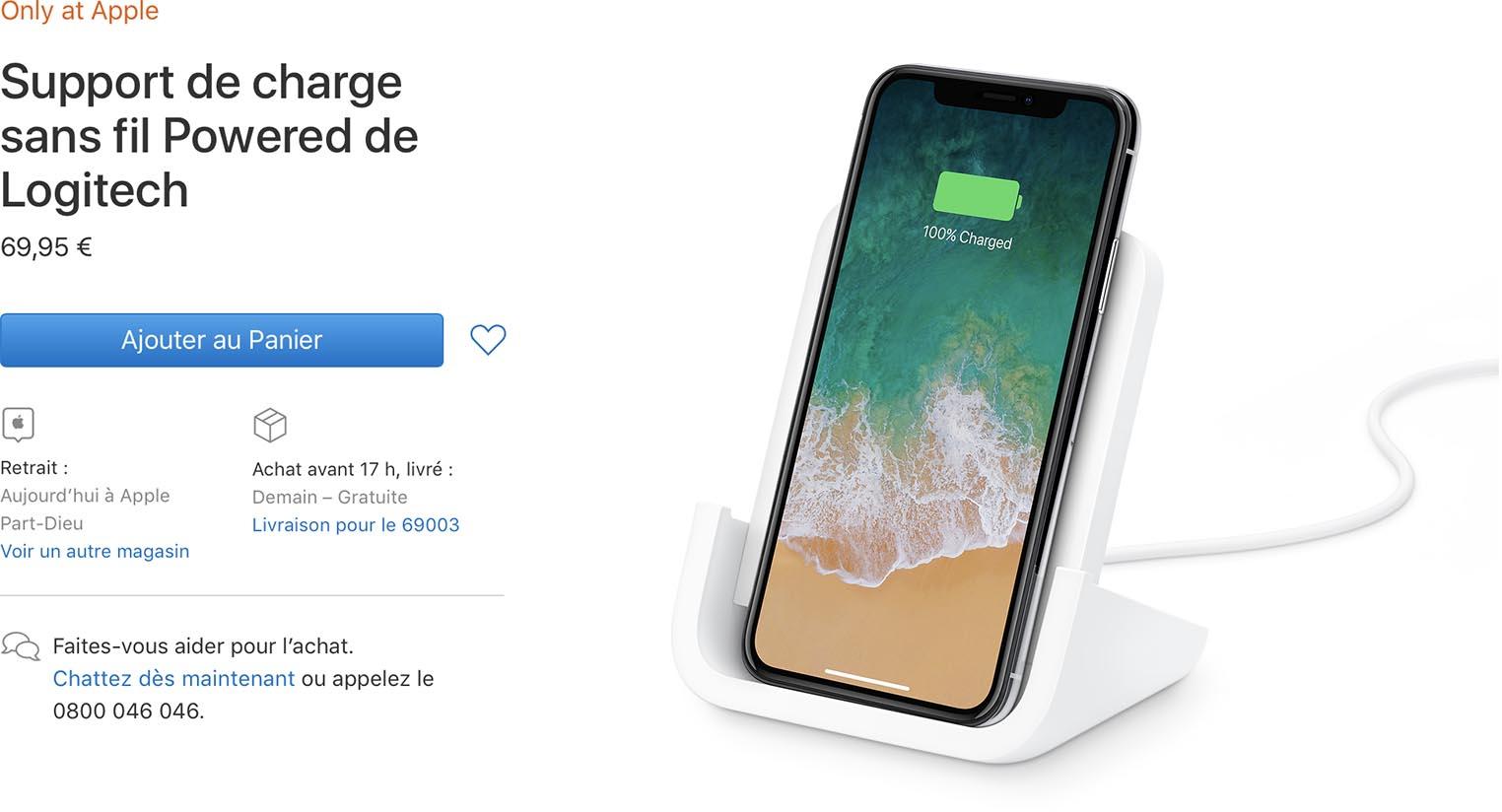 Powered Logitech Apple Store