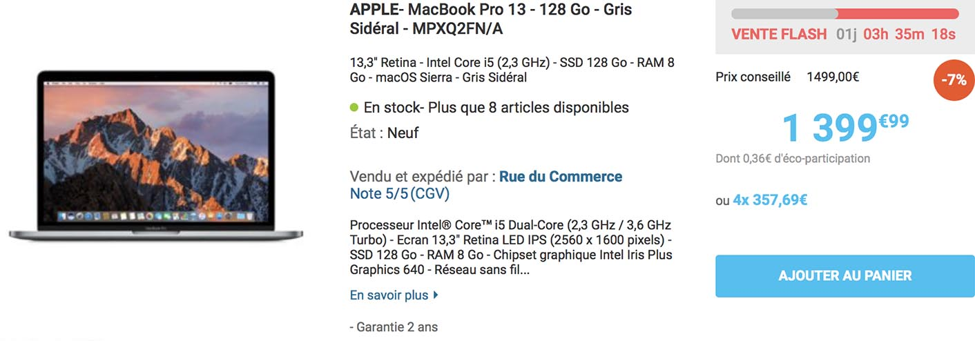 Promo MacBook Pro 2017