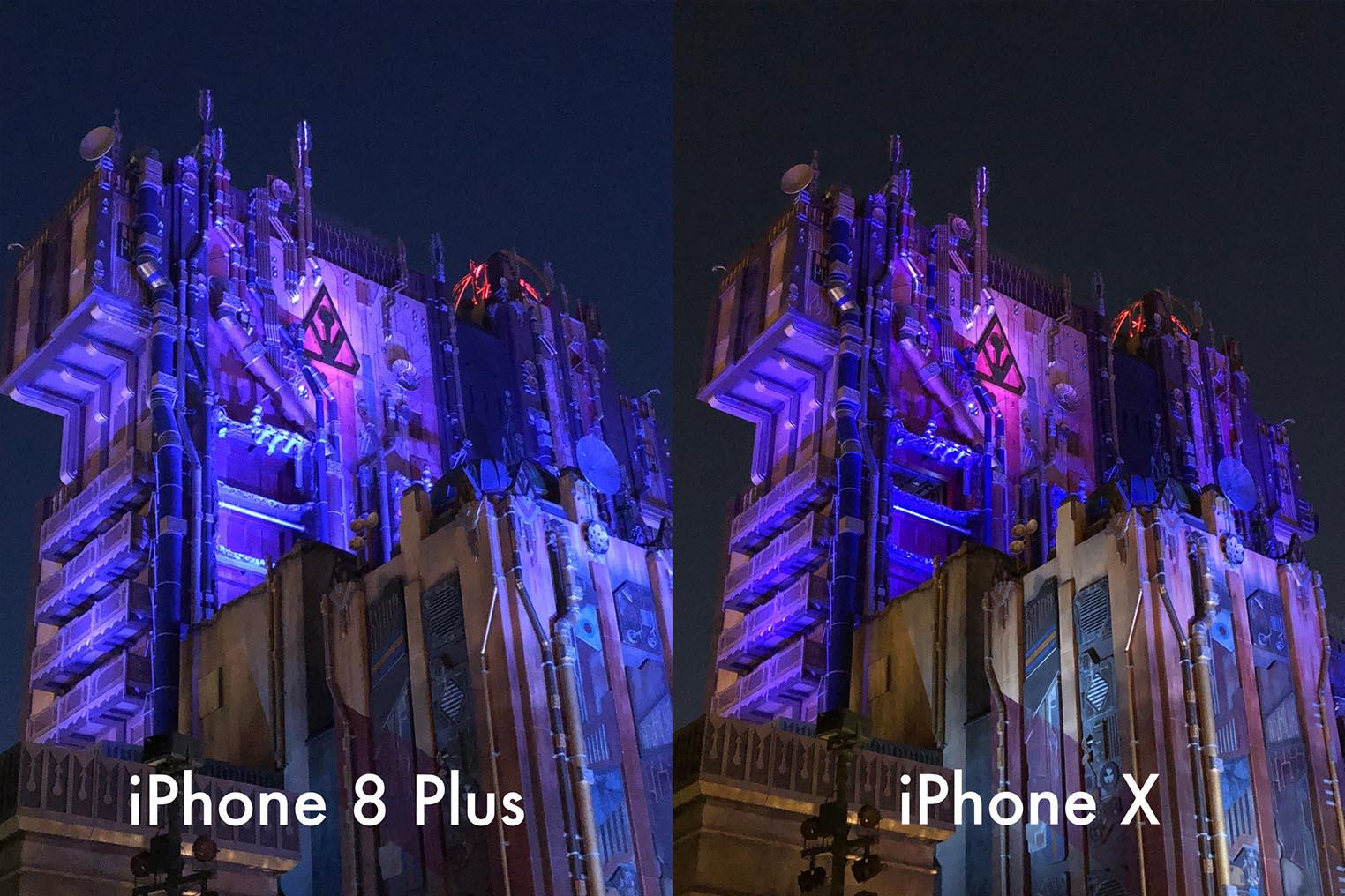 iPhone X test appareil photo