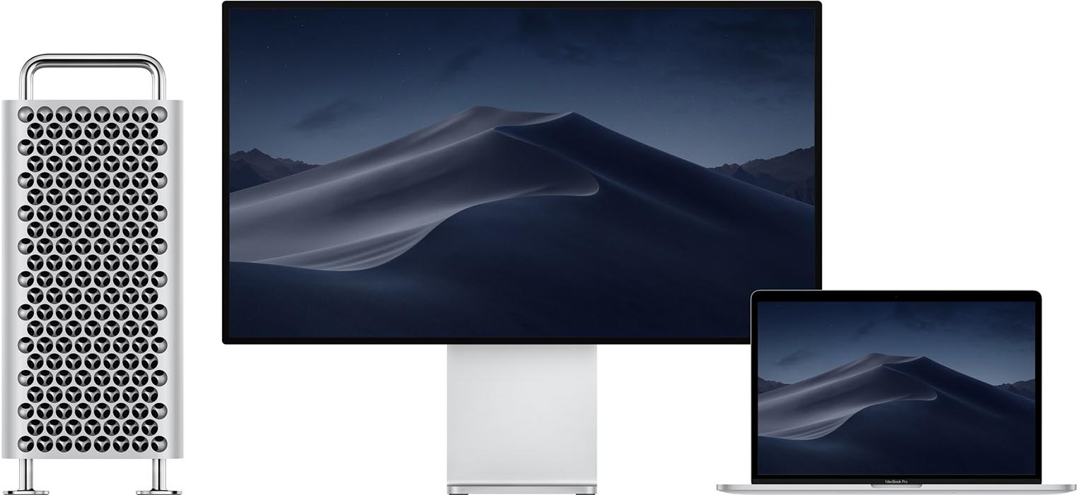 Apple Pro Display XDR Mac Pro MacBook Pro