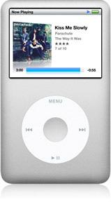 iPod classic blanc
