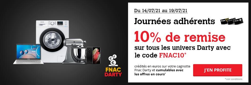 Promo Darty FNAC10