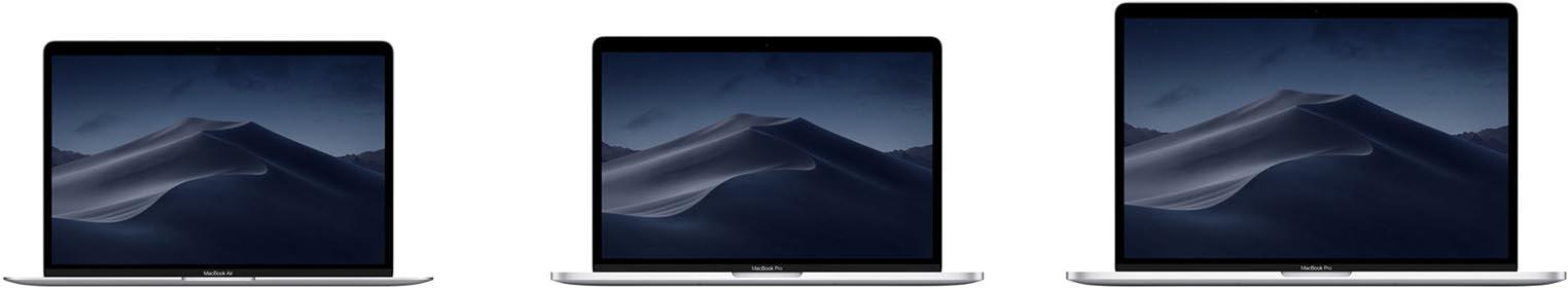 MacBook gamme 2019