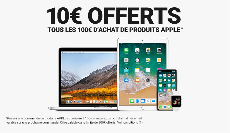 Promo Apple Rue du Commerce