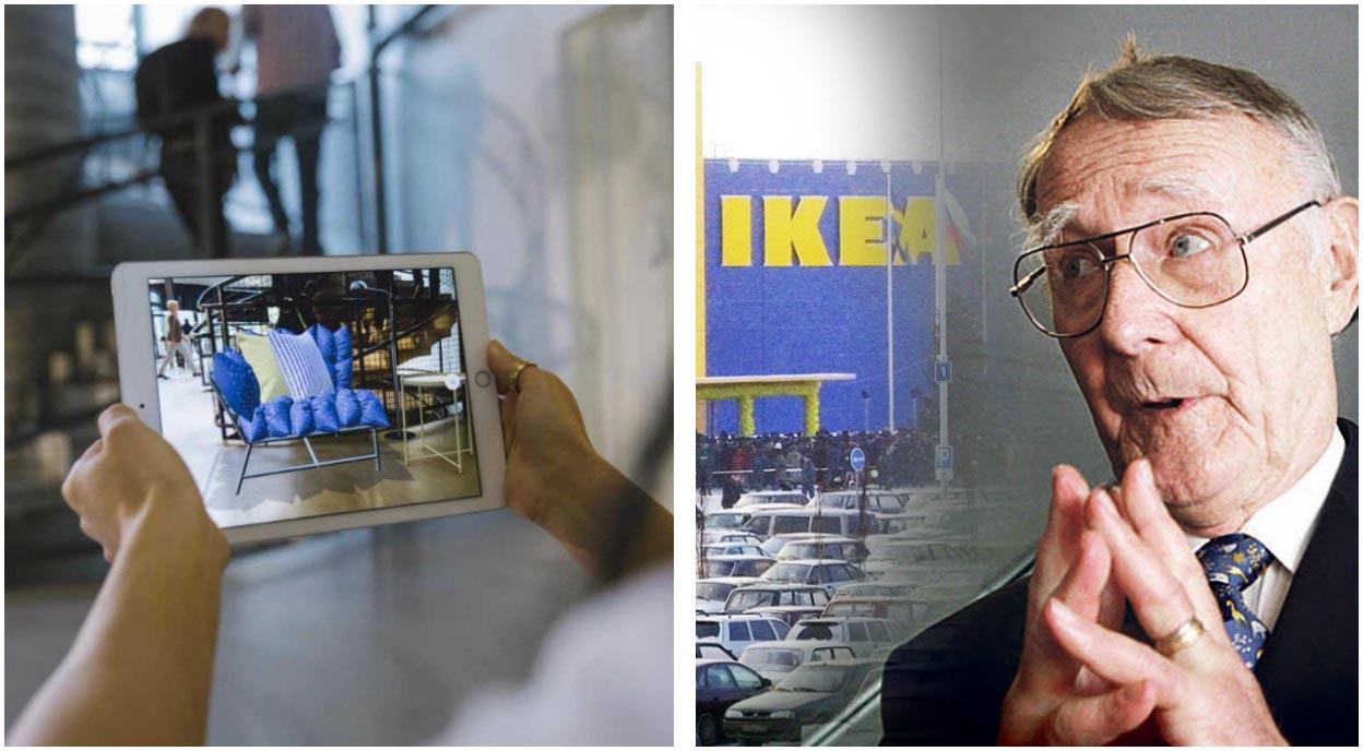 Réalité augmentée iOS 11 Ikea