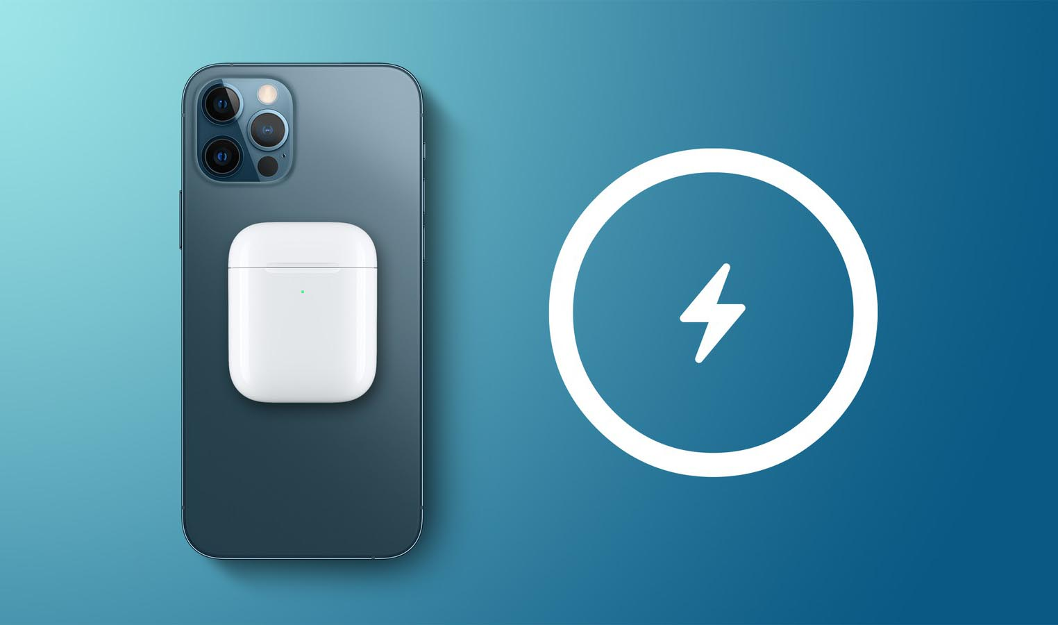 Recharge inversée iPhone AirPods