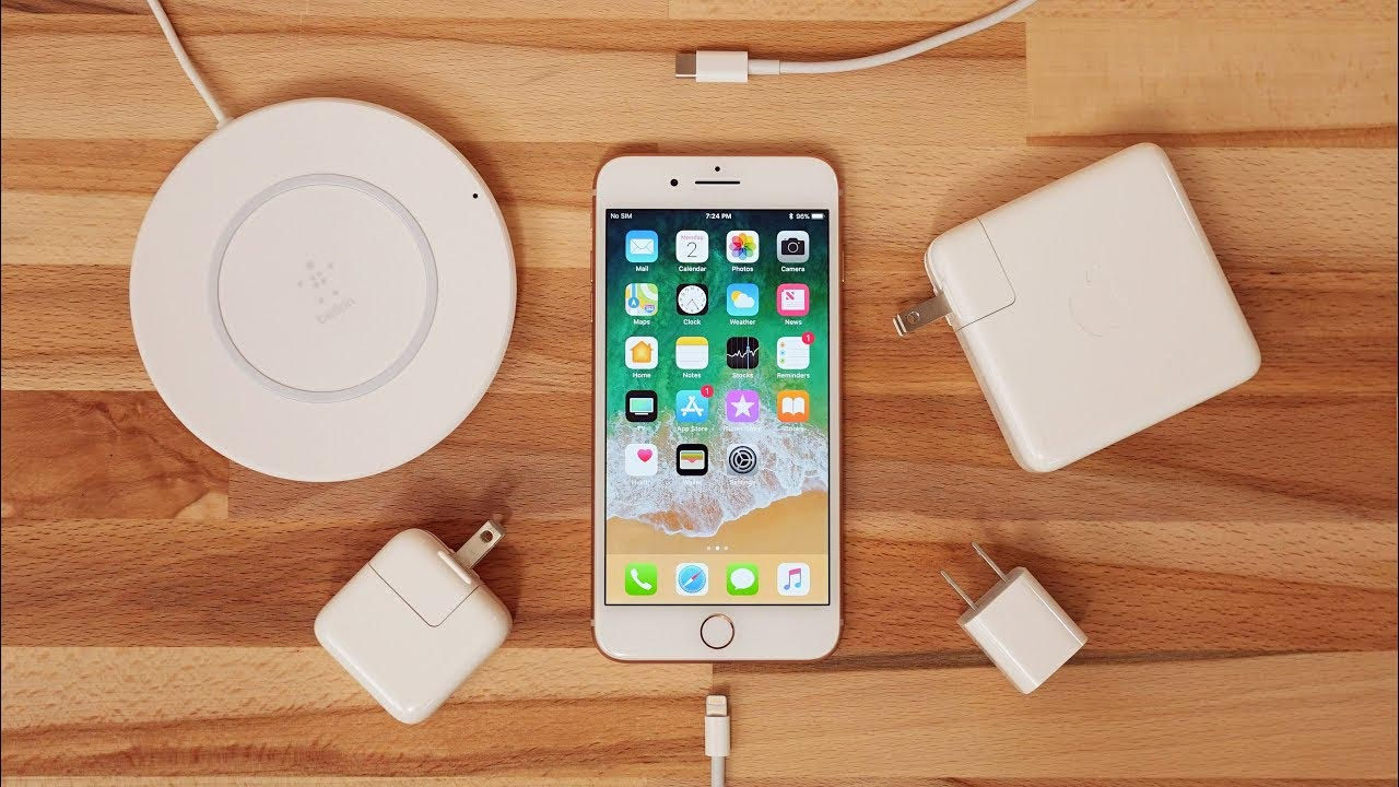 Recharge rapide iPhone 2018
