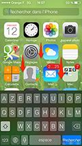 Recherche iOS 7