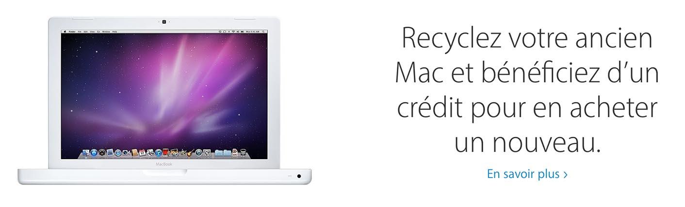 Recyclage Mac