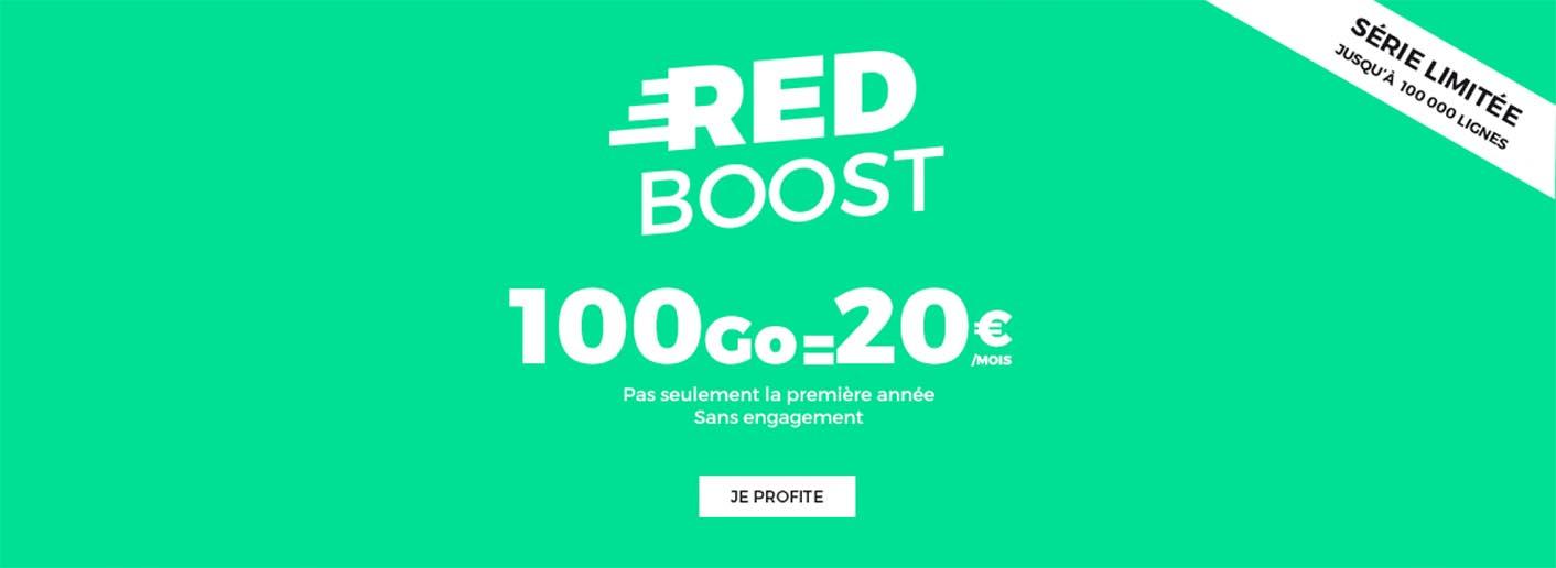 Forfait SFR RED 100 Go