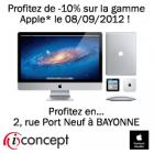 Reduc Mac à iConcept Bayonne