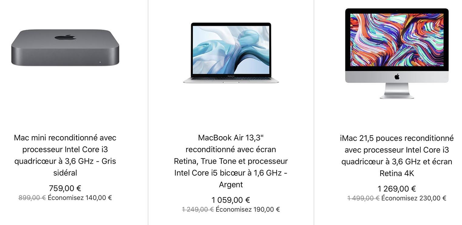 Mac Refurb 2020