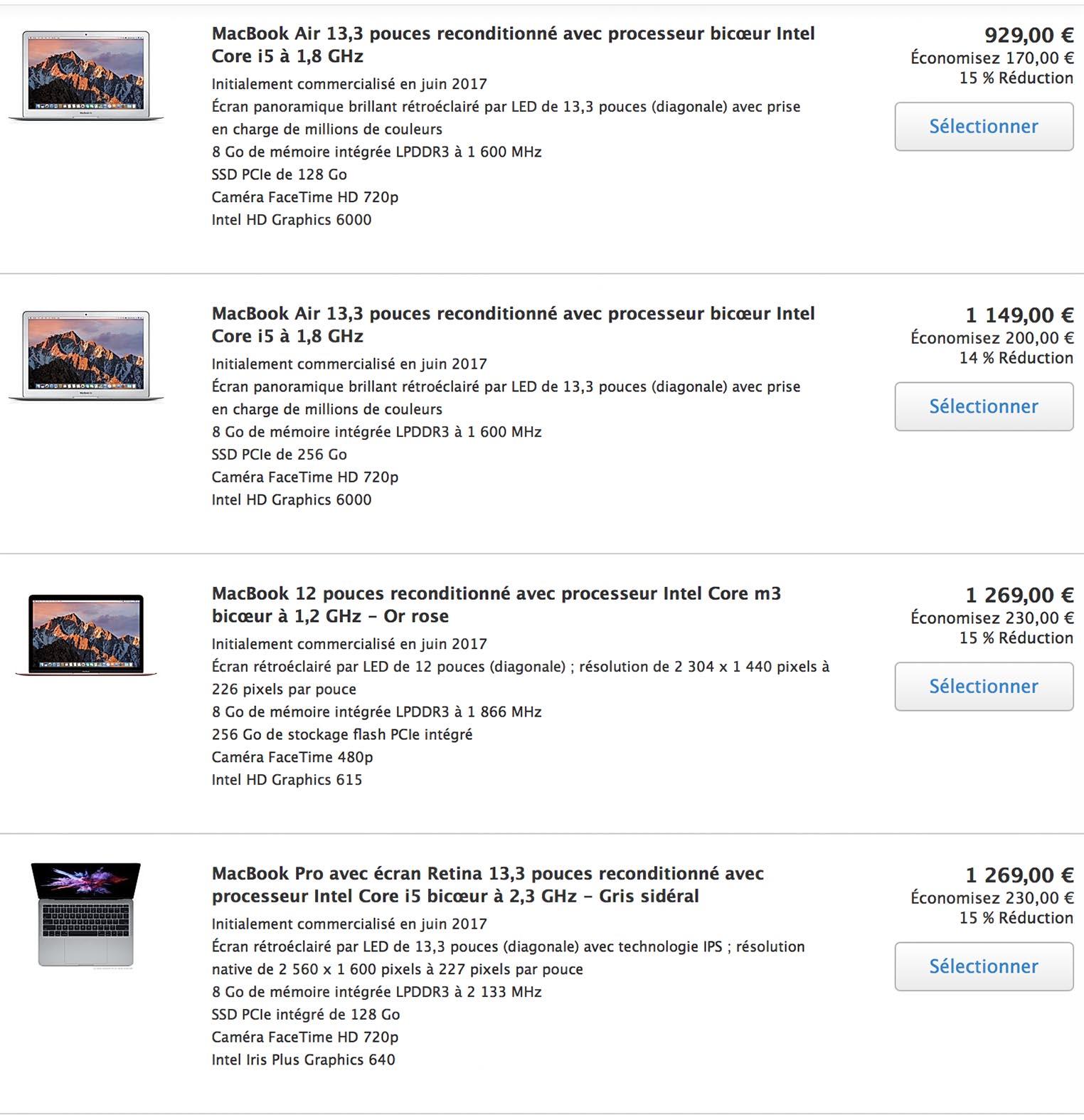 MacBook Refurb Store