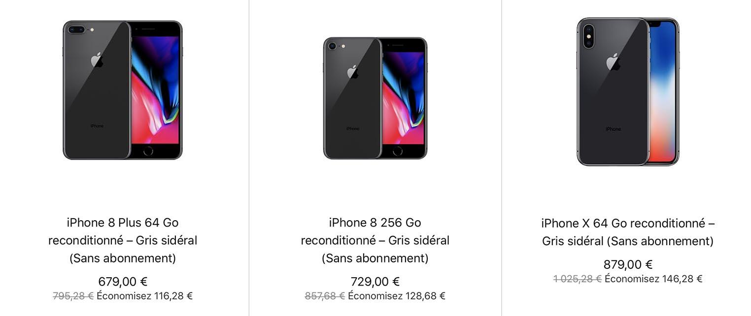 iPhone Refurb Store