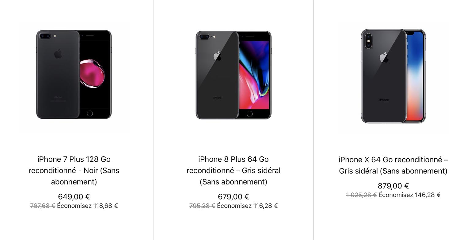 Refurb Store iPhone
