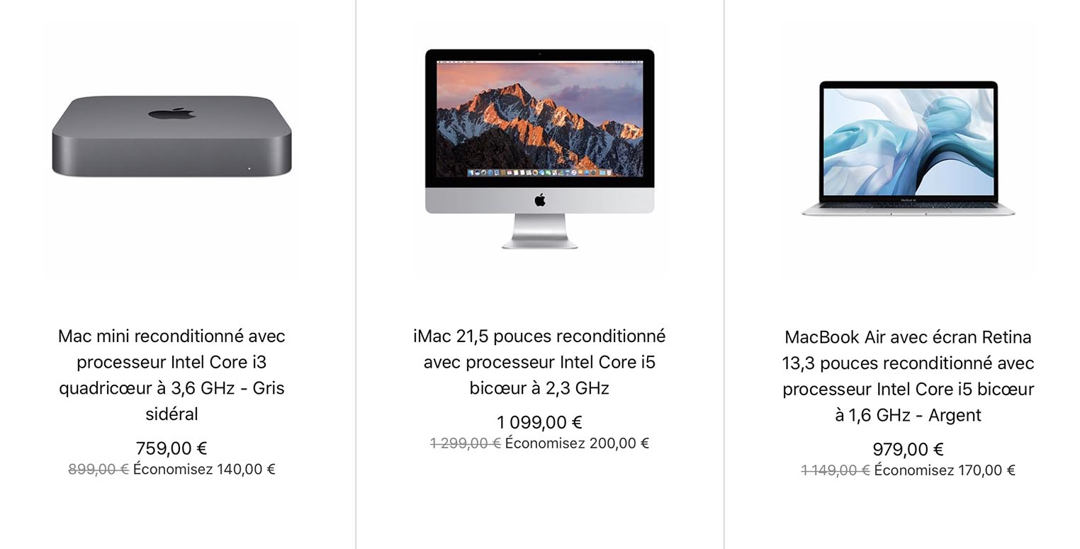 Refurb Store Mac